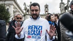 Salvini supera il 14% alla vigilia della marcia