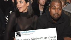 La robe divise les people (et le couple