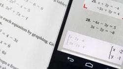 写真に撮るだけで方程式を解くPhotoMath、二次方程式も解けちゃう