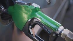 Le prix de l'essence a bondi à