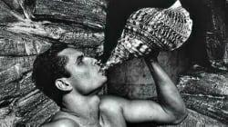 Florent Manaudou nu devant l'objectif de Karl