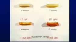 ¿Las tostadas quemadas causan