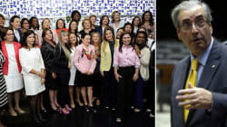 Eduardo Cunha limita autonomia das mulheres na formação da bancada