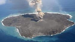ASSISTA: Esta ilha japonesa está crescendo
