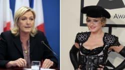 Invitée par Madonna, Marine Le Pen «accepte avec