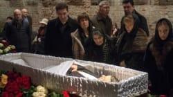 Russie: dernier hommage à Boris