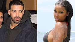 Drizzy Gets Close With A Model Down