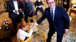 Cette lectrice du Parisien voulait voir le chien de Hollande. Elle a été