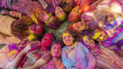 PHOTOS: Holi Celebration In India Is Wild As