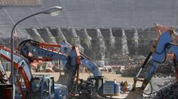 取り壊される国立競技場 57年の歴史に幕
