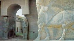 Lantica città assira di Nimrud rasa al suolo con le ruspe