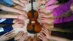 El violín en el que nadie