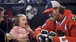 She Can't Walk. She Can't Speak. An NHL Star Just Made Her