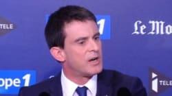 Manuel Valls a peur que la France