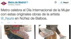 Indignación en Twitter con Metro de Madrid por este mensaje