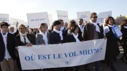 Vol MH370: une pétition remise à l'Elysée pour demander