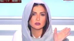 VIDÉO - La géniale réaction d'une journaliste libanaise à laquelle un islamiste demande de