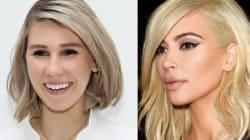 Le blond platine comme Kim Kardashian est déjà passé. Mettez-vous au gris!