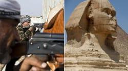 Estado Islâmico agora prega a destruição da Esfinge e das pirâmides do