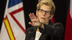 Wynne Says She's Not Ducking