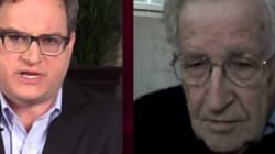 Watch Noam Chomsky School Ezra Levant On Free
