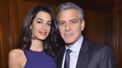 Amal Clooney Stuns In Sleeveless
