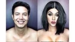 Les étonnantes transformations féminines de Paolo Ballesteros