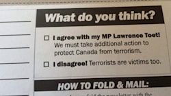 Tory MP's Anti-Terror Mailout Features Loaded
