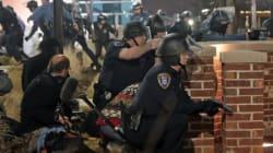 Spari a Ferguson, due agenti feriti