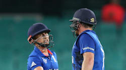 England Beat Afghanistan In Rain-Swept