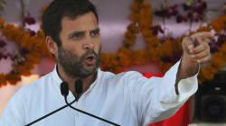 NDA Govt Has Killed The Land Bill, Says Rahul Gandhi In