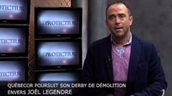 Stéphane Gendron se porte à la défense de Joël Legendre