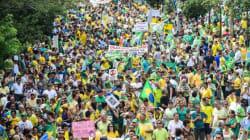 Brésil : un million de manifestants dans les rues de Sao Paulo contre Dilma