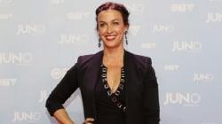 Alanis Morissette's Chic Junos