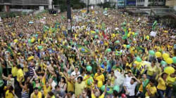 Brasile, due milioni di persone in piazza contro Dilma
