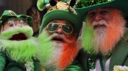 Saint Patrick n'était pas Irlandais et la couleur à porter c'est plutôt le