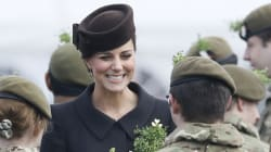 Kate Middleton Goes Chic At St. Paddy's
