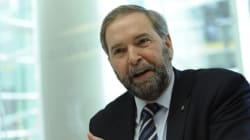 Mulcair fier de sa performance au premier