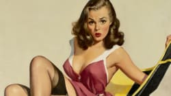 Une grande collection d'œuvres de pin-up en exposition en NY