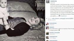 Madonna stoppa la polemica con D&G: