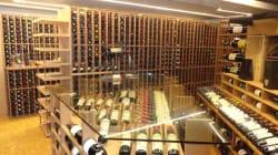 Visite d'une cave à vin d'une valeur de 2 millions