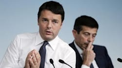 Incontro Renzi-Lupi-Alfano a Palazzo