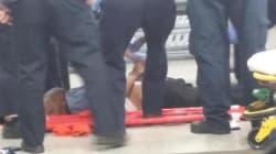 Un homme armé d'une machette atteint par balles à l'aéroport de la