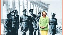 Merkel entourée de nazis devant l'Acropole, la une choc du