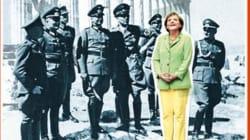 Merkel tra i nazisti nella copertina shock dello