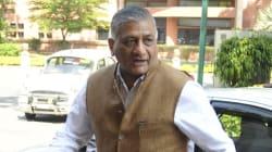 V K Singh Apologises To Media For 'Presstitutes'