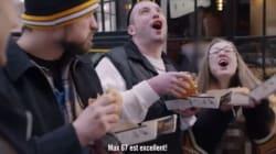 Max Pacioretty fait goûter son nouveau hamburger McDonald's à Boston, mais la Coalition Poids n'apprécie pas