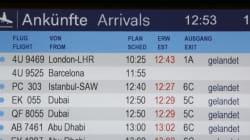 Il giorno prima dello schianto Germanwings al premio per le migliori compagnie