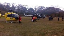 Le prime immagini dei soccorsi sul luogo dello schianto dell'Airbus A320