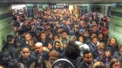 Strange Ooze On Tracks Exposes Transit